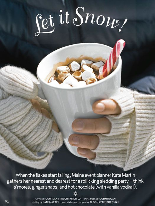 Country Living February 2013 Let It Snow Party By Kate Martin Of Beautiful Days Winter Birthday PartiesWinter
