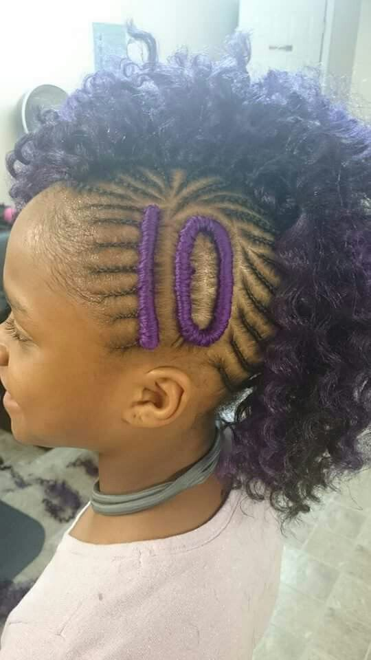 cute mohawk baby girl hair