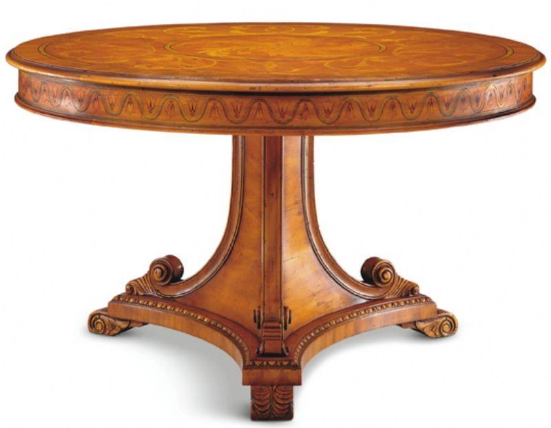 San Marino Table No 516 040 03 49 1 4 Dia X 29 1 2 H White Cedar