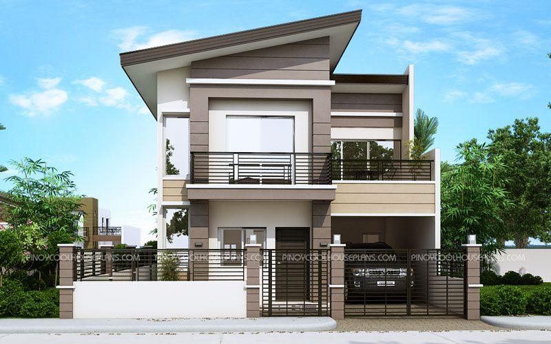 Modern house plan like dexter model is  bedroom story featured by pinoyeplans three meters from the front boundary or fence small porch also best two plans images design rh pinterest