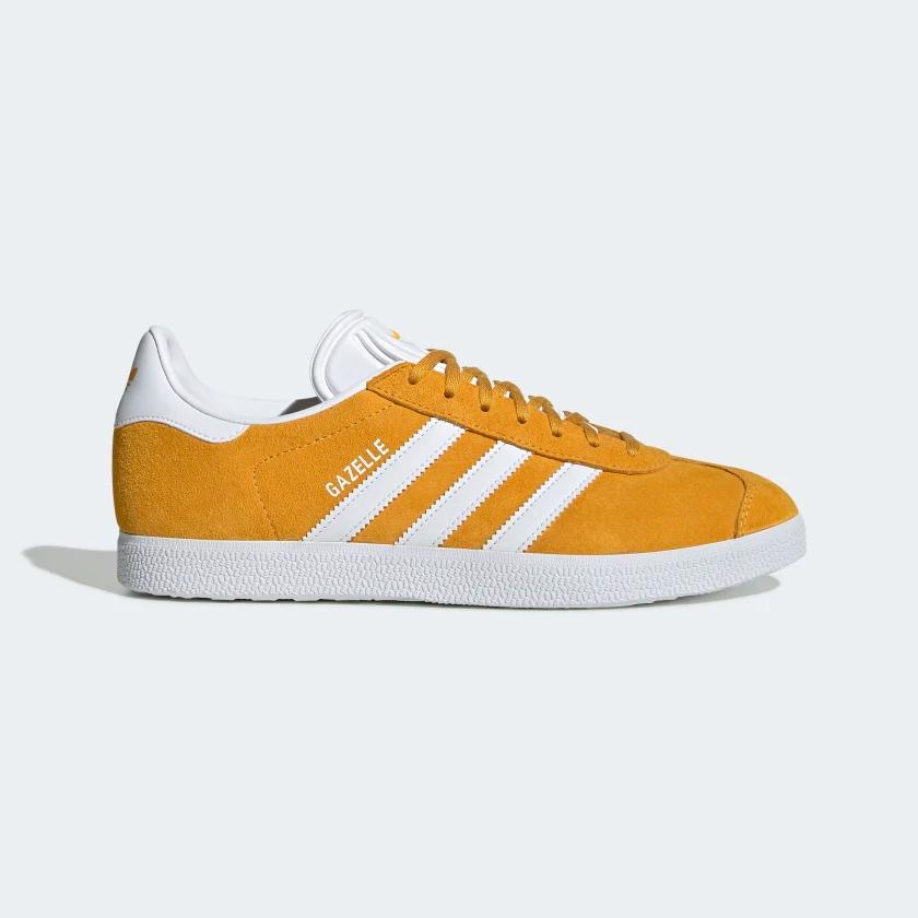 adidas Gazelle Shoes - Yellow   adidas