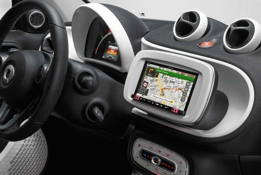 Alpine Kit W997smtw Smart Fortwo Dab Bluetooth Carplay Android 7
