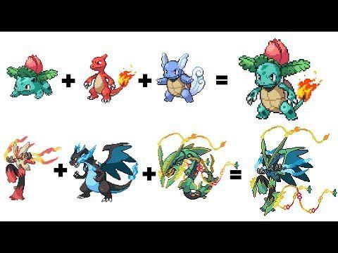 Pokemon Evolutions That You Wish Existed! Legendary Pokémon Fusion Part 15 - YouTube | Pokemon fusion