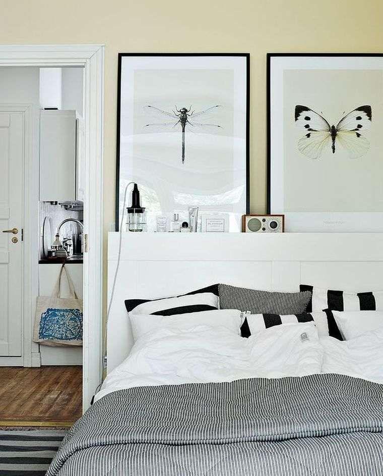 Tete De Lit Ikea Personnalisee 10 Idees De Relooking De Meubles Tres Creatives Home Bedroom Bedroom Interior Bedroom Inspirations