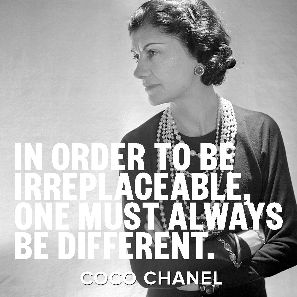 Fashion Designer Quotes Iconic Fashion Designer Coco Chanel Always Dared To Be Bold And
