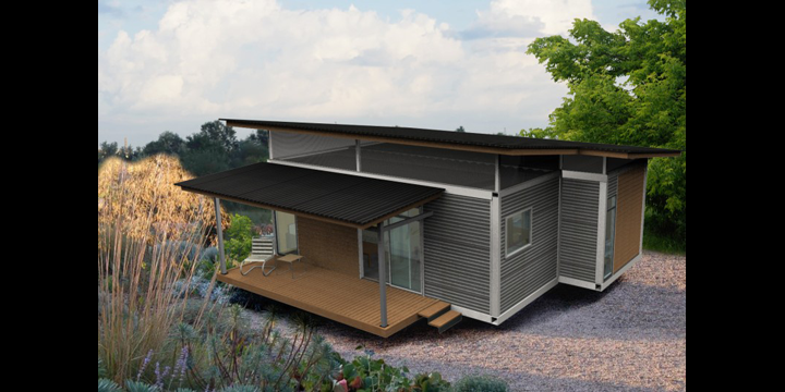 Cubica shipping container homes located in costa rica - Contenedores usados para vivienda ...
