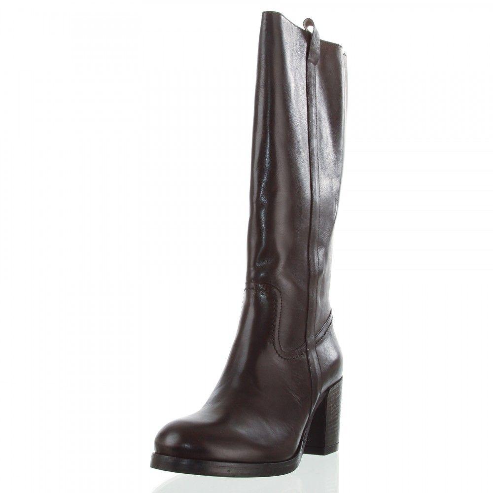 OTTO KERN 80266 Damen Stiefel, Leder, Absatz 7 cm | Stiefel
