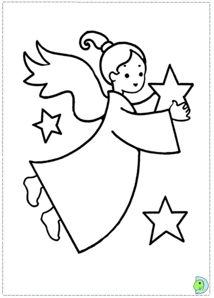 Angel Coloring Page Christmas Angel Colouring Page Dinokids Printable Christmas Coloring Pages Christmas Coloring Books Christmas Coloring Pages