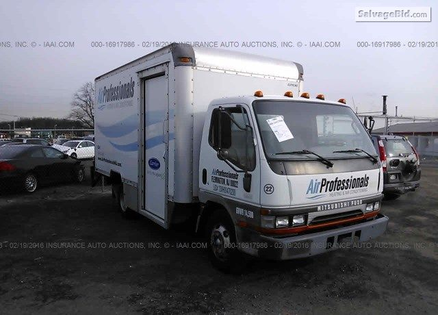 2001 Mitsubishi Fuso Fe6 Inventory Details Vin Jw6bhe1sx1l003423