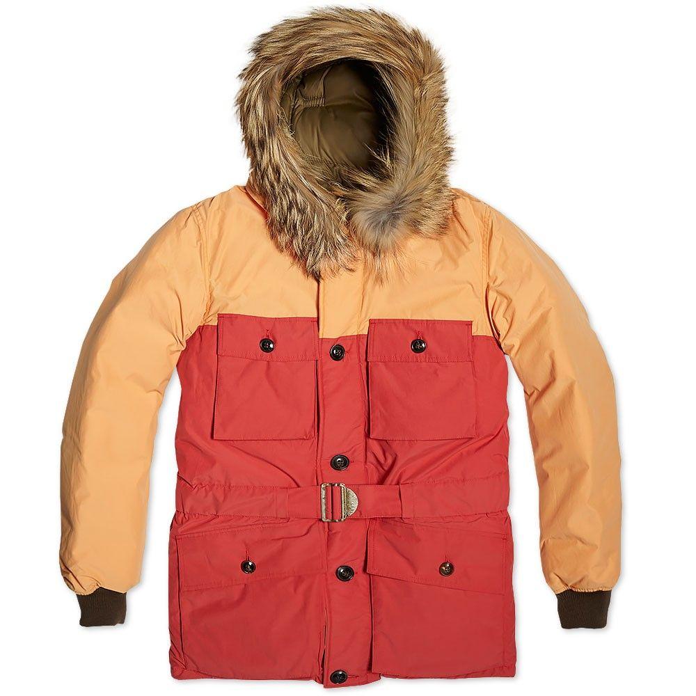9235a1face0b Nigel Cabourn x Eddie Bauer Mount Everest Parka (Sun Bleached Orange ...