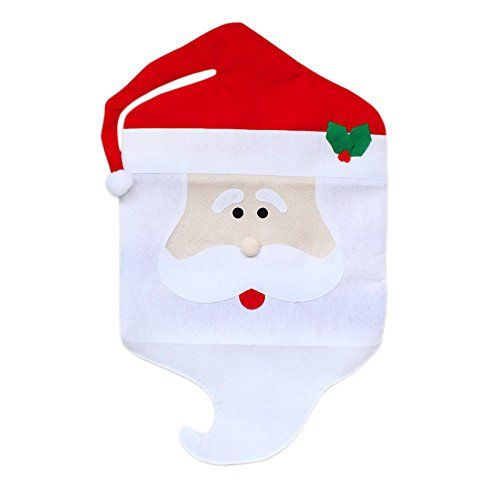 Decoration Table Party Directly From China Suppliers Christmas Xmas Dinner Dining Room Seat Chair Cover Santa Claus Decor