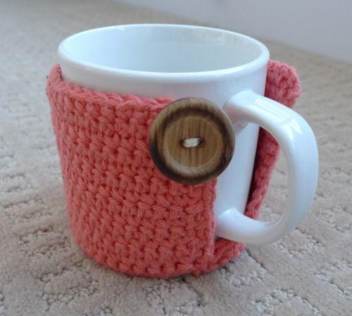 Cup Cozy Tutorial | Häkeln, Stricken häkeln und Stricken