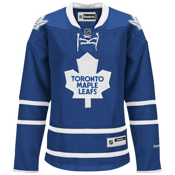Women s Toronto Maple Leafs Reebok White Premier Road Jersey ❤ liked on  Polyvore featuring toronto maple a88ff288f