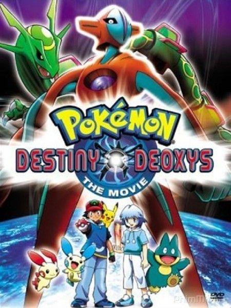 Phim Pokemon Movie 7: Deoxys Kẻ Phá Vỡ Bầu Trời