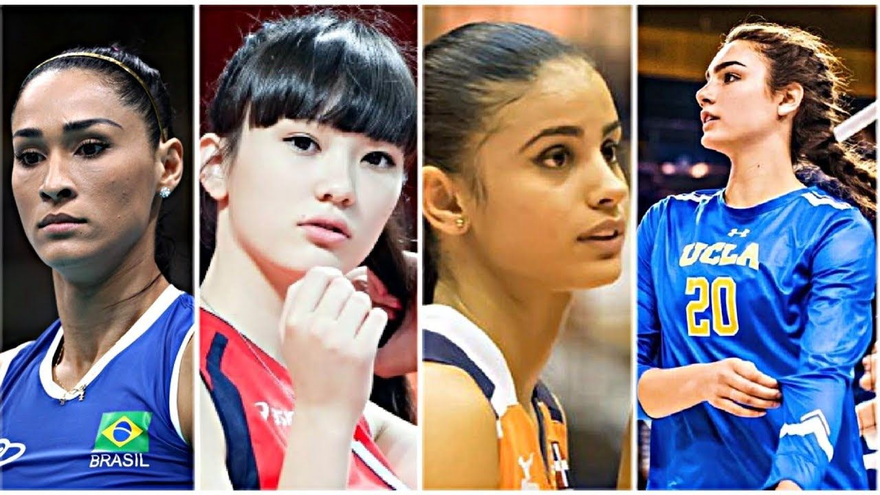 Watch Tallest Teenagers In Volleyball History Volleyball Videos In 2020 With Images Volleyball Players Volleyball Badminton Videos