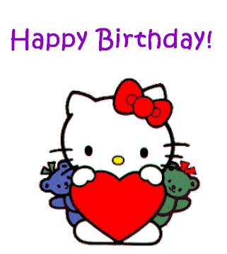 Happy Birthday Hello Kitty Images Happy Birthday Hello Kitty Cartoon Wallpaper Happy Birthday Images Happy Birthday Ashley Hello Kitty Birthday