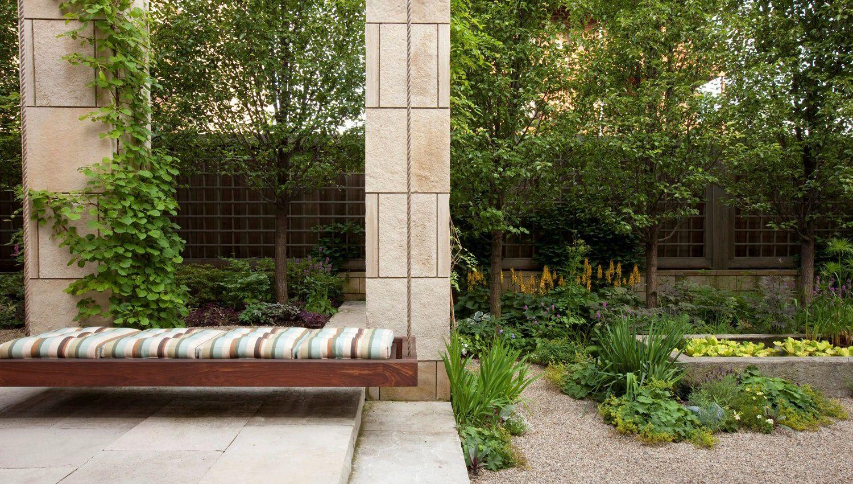 Urban Garden Hoerr Schaudt Modern Backyard Landscaping Modern Landscaping Garden Design
