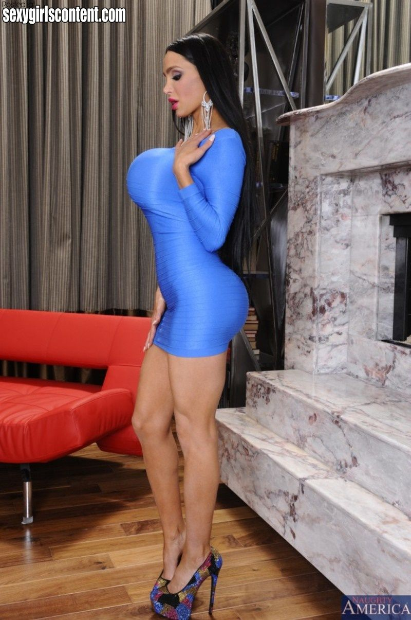 4 hot amy anderssen tight dress big boobs perfect round booty dgaa43