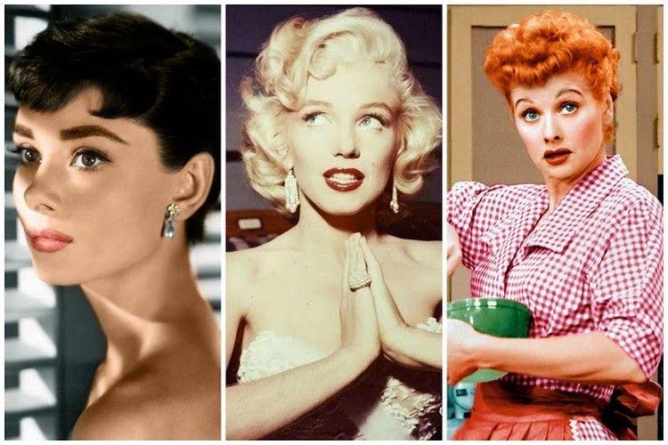 Trendige Frisuren Der 50er Jahre Von Berühmten Frauen