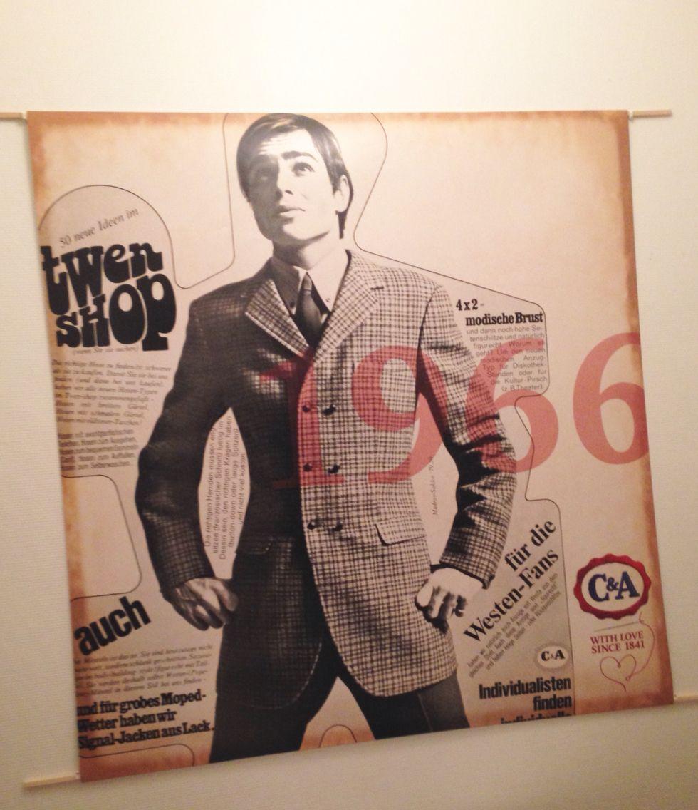 Affiche publicitaire C&A de 1966