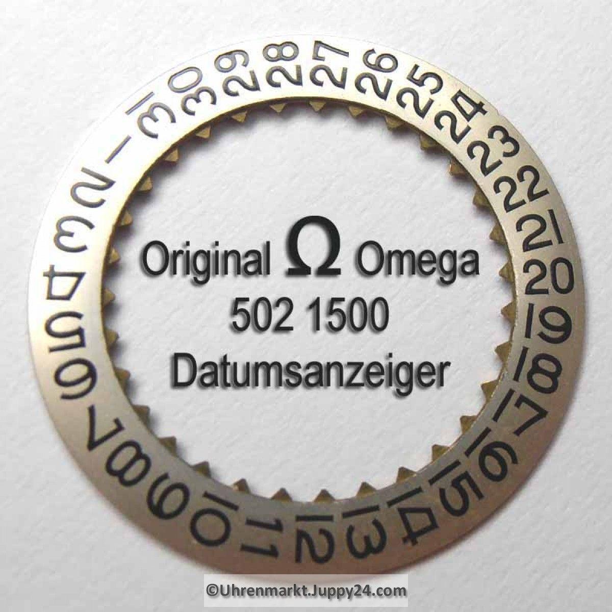 Omega Datumanzeiger (Datumsscheibe - Datumsring) Part Nr. Omega