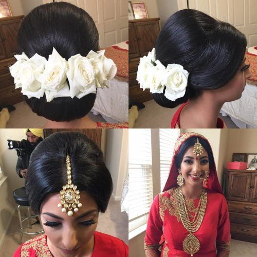 Dulhan hairstyle for short hair | Indian Bridal hairstyles ...