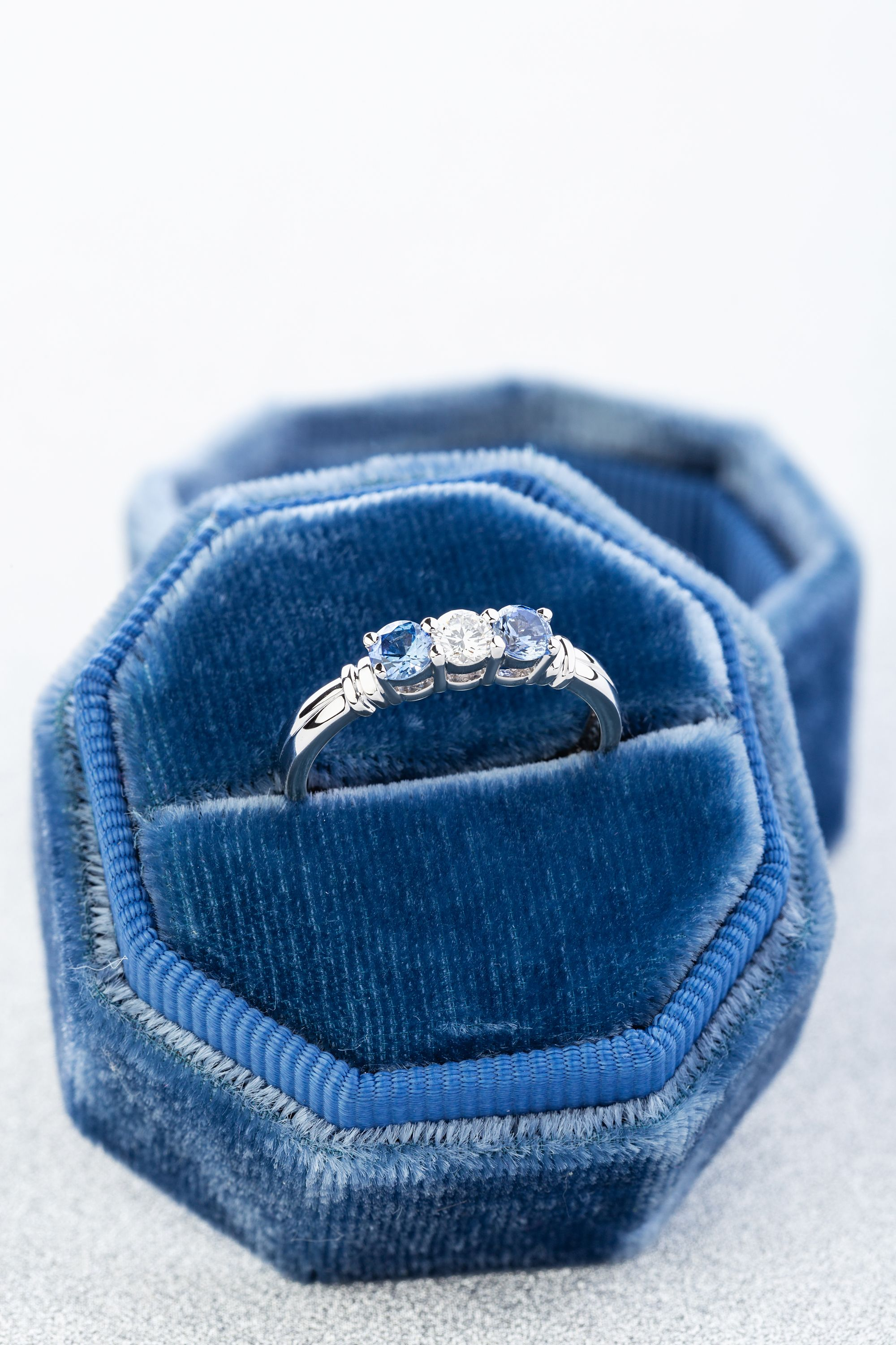 Ring for Women Womens rings Ring Birthstone Sapphire Ring For Her Ring Engagement Solitaire Ring