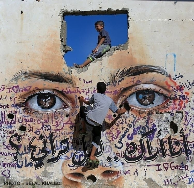 Ello Beautiful & adfree. Street art, Art, Murals
