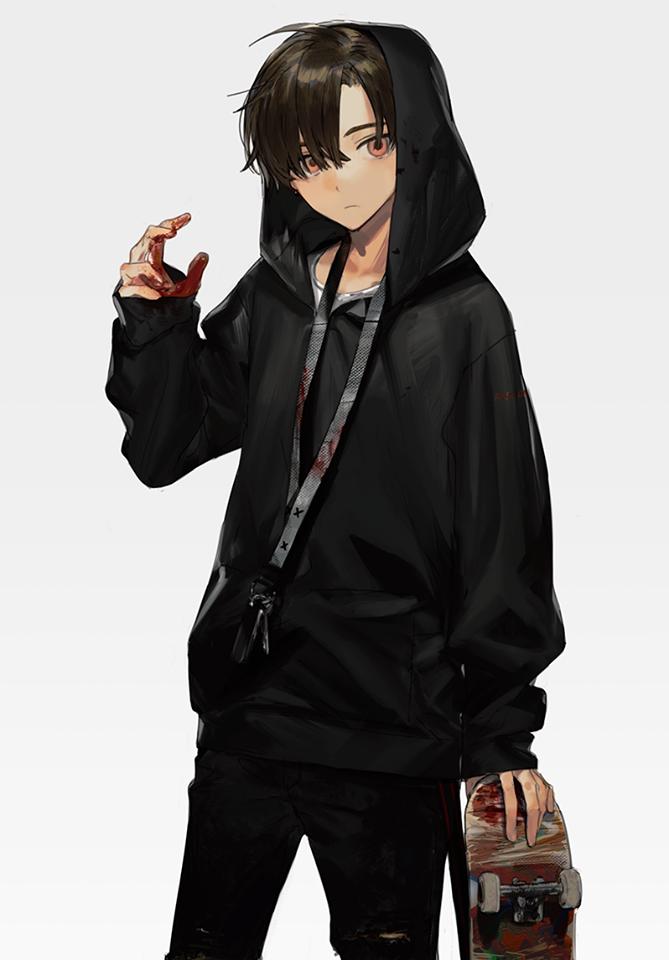 I'm a skater かわいいアニメの少年, アニメコスプレ, アニメ 男性