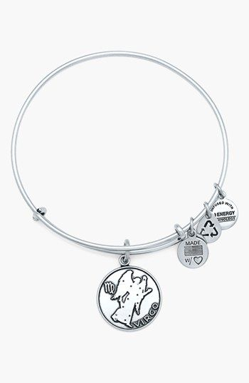 Alex and Ani 'Virgo' Adjustable Wire Bangle available at #Nordstrom