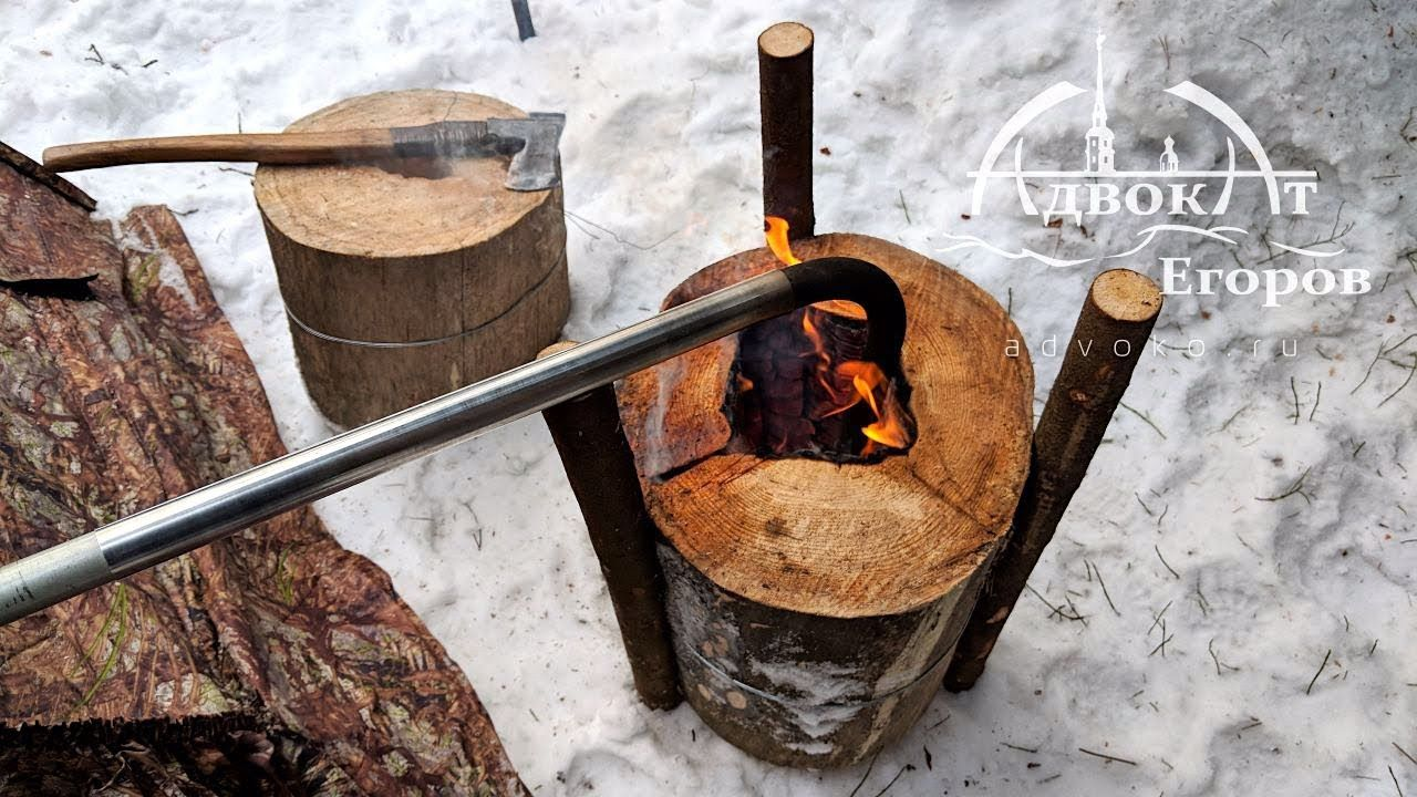 Heating Ğ° Tent with a Log Torch YouTube Tent, Tent