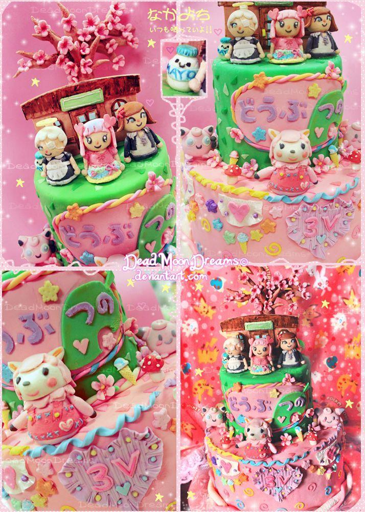 Sensational Animal Crossing Fondant Cake Woah With Images Animal Personalised Birthday Cards Veneteletsinfo