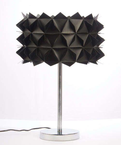 Mounted Origami Organizers Geometric Lamp Design Milk Modern Light Fixtures