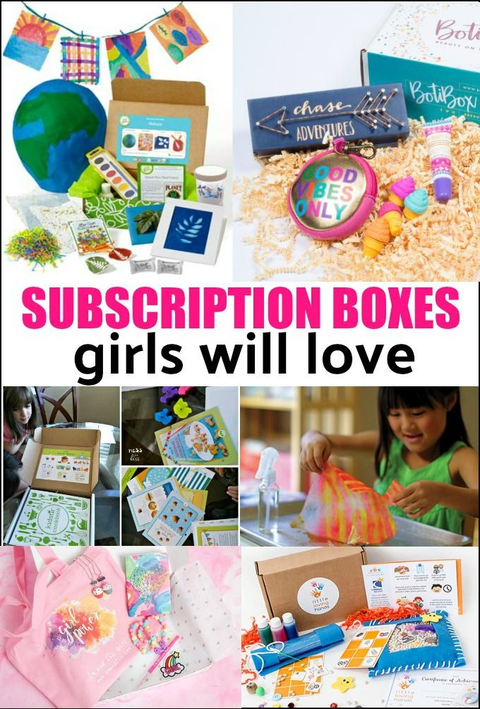 Best Subscription Boxes For Girls Subscription Boxes For