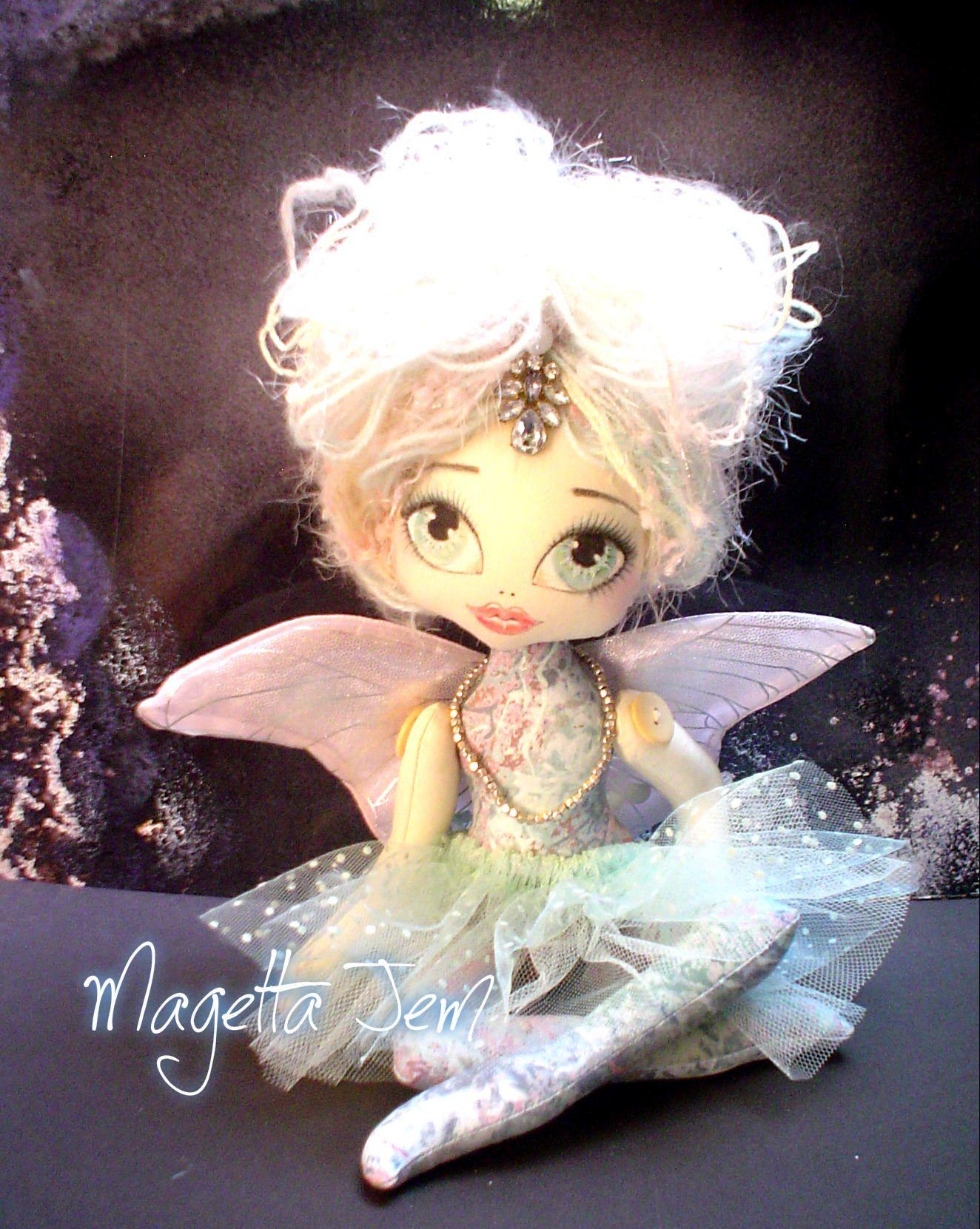 OOAK Doll Art Doll Handmade Doll Sprite Collector Doll Customized Cloth Doll Fairy