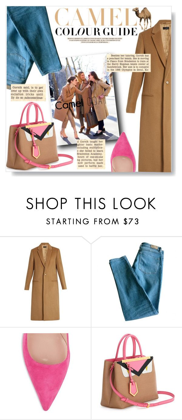 """""""Untitled #649"""" by lo2lo2a ❤ liked on Polyvore featuring Joseph, Zara, Sandro, Kate Spade and Fendi"""