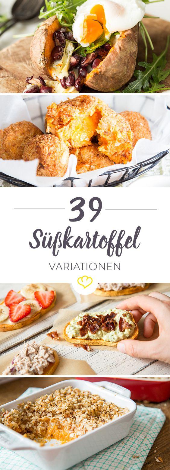 Unsere 39 liebsten Süßkartoffel-Rezepte: Von herzhaft bis süß #sweetpotatorecipes