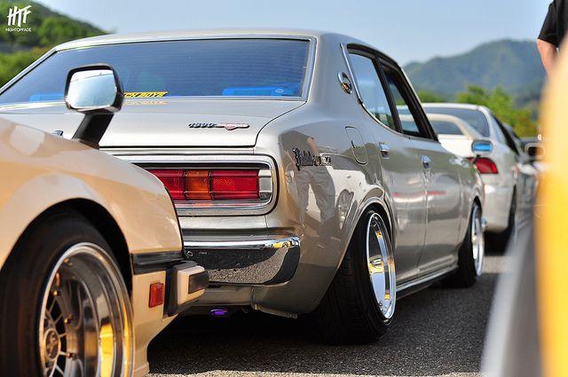 Pin By Kei On ダットサン180b ブルーバード610 Datsun Datsun 510 Rims For Cars