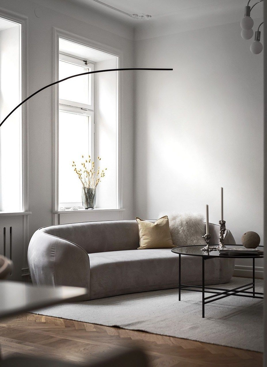 Minimal Living Room Decor Coco Lapine Designcoco Lapine Design Minimal Living Room Scandinavian Decor Living Room Minimalist Living Room #scandinavian #decor #living #room