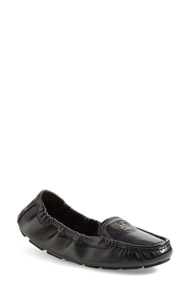 dd504e67a9b Prada  Scrunch  Driving Loafer (Women) available at  Nordstrom