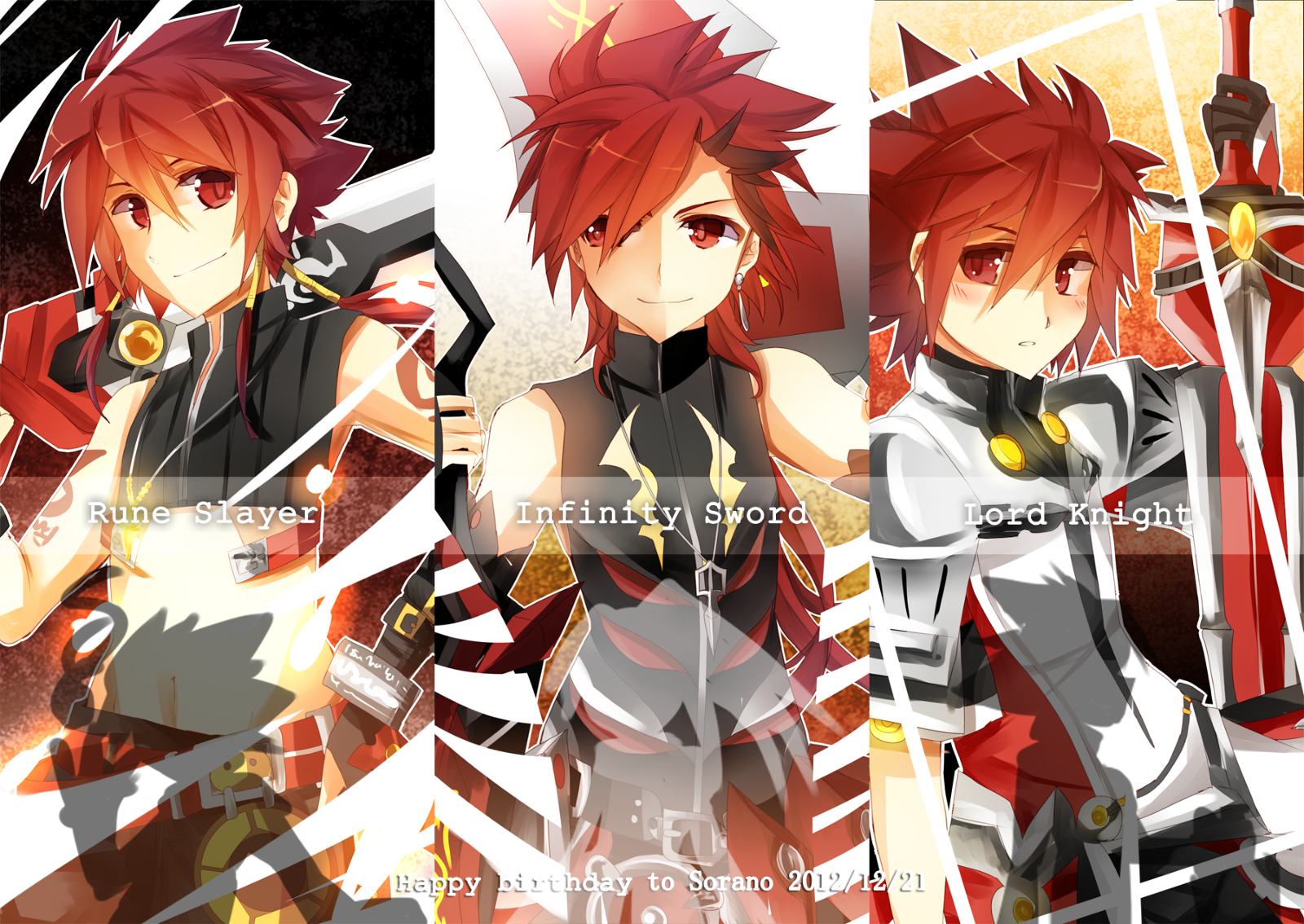 Anime Characters Jobs : Elsword every job pinterest