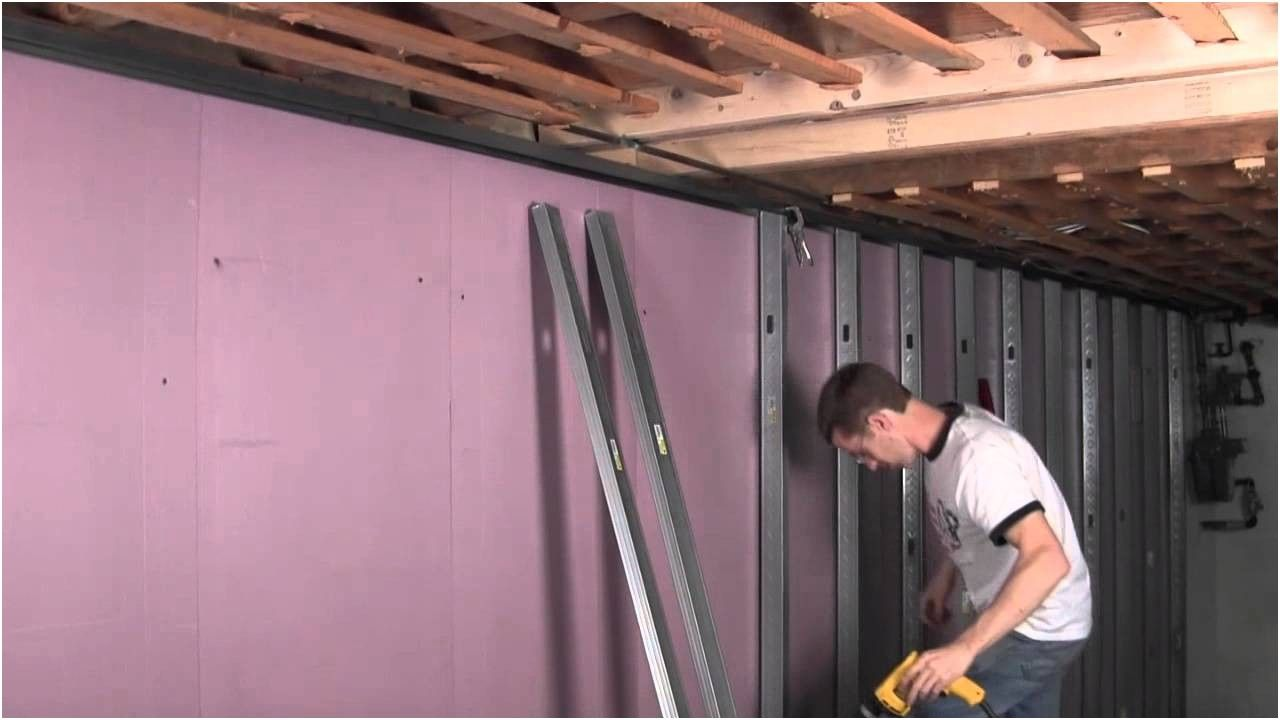 Smart U Video 414 Metal Stud Framing Youtube From Framing Basement Walls  Video