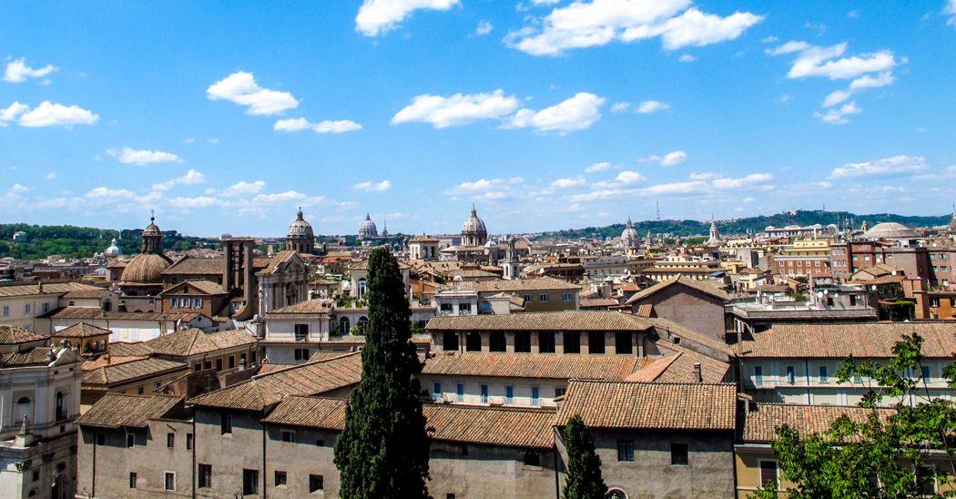 Il Panorama Dalla Terrazza Di Palazzo Caffarelli Storia