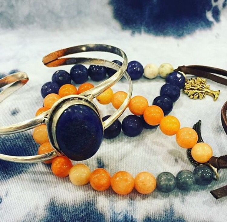 Spice up your look with some gypsy jewels! #gypsy #bracelet #style #boho #jewelry #accessories
