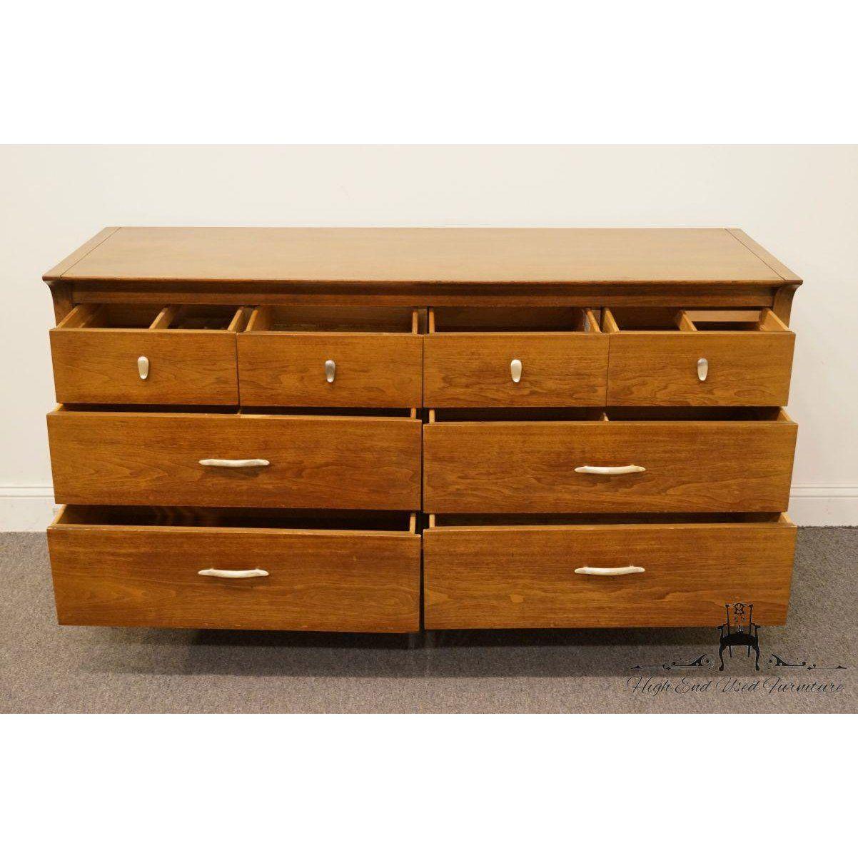 Vintage Mid Century Drexel Profile Collection Double Dresser For