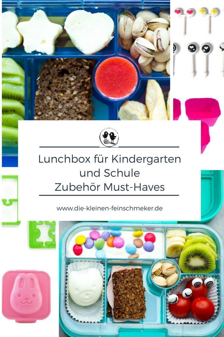 lunchboxen f r kindergarten und schule zubeh r must haves kinderrezepte mit kindern kochen. Black Bedroom Furniture Sets. Home Design Ideas