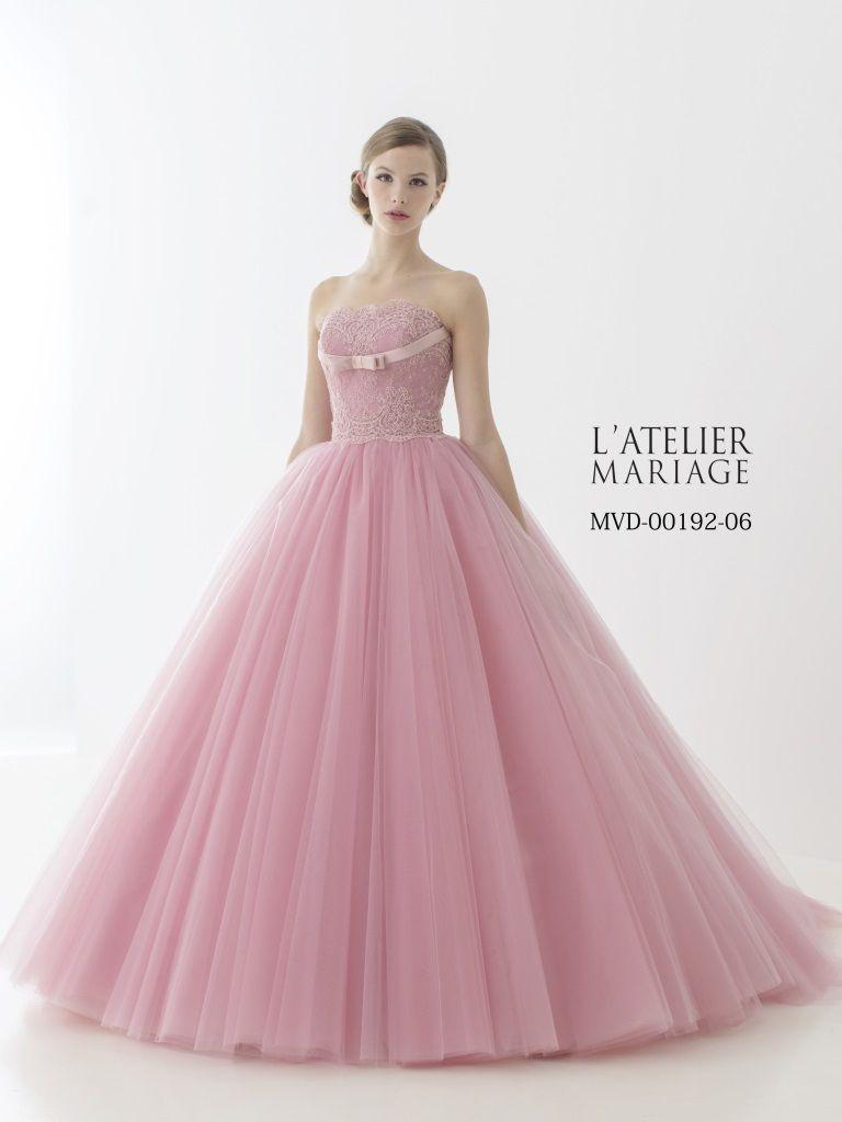 色あせない美しさ♡王道クラシックを極めたラトリエマリアージュのドレス ...
