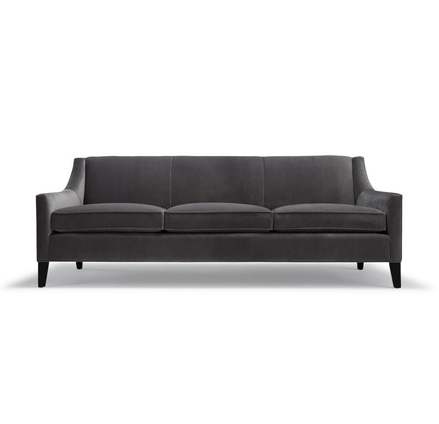 Just Bought This Mitchell Gold + Bob Williams Couch Yesterday. I Love  It!!!! And The Color Is So Great... Itu0027s A Nice Medium Mouse Grey,u2026 |  Pinteresu2026