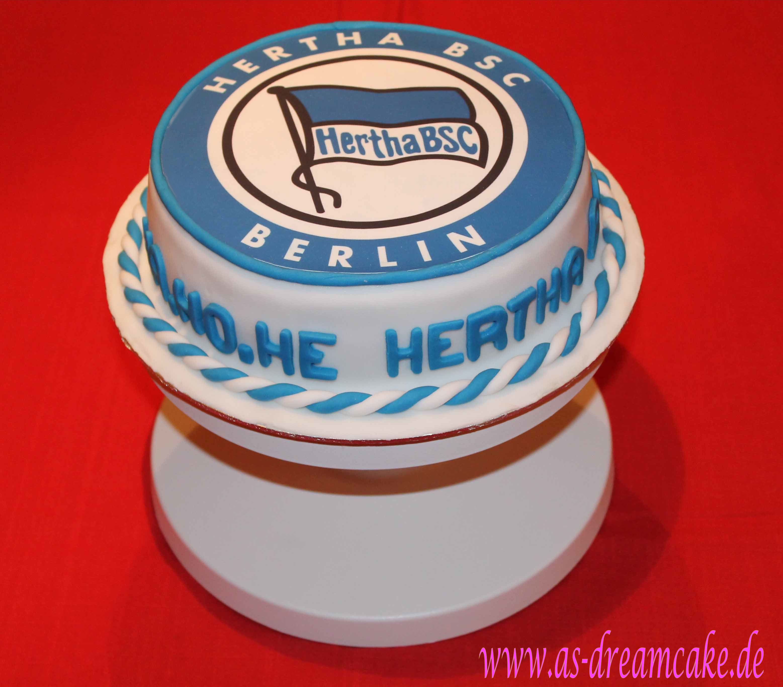 Kuchen Essen In Berlin Hertha Bsc Torte Meine Tortenkreationen In 2019 Hertha
