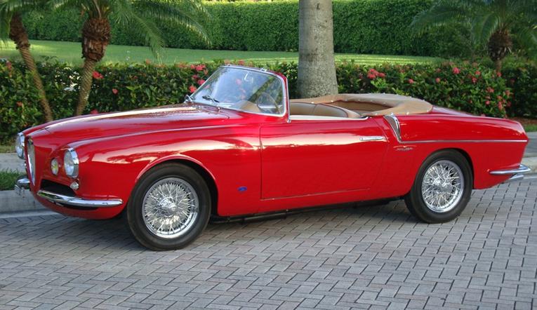 1955 Alfa Romeo 1900 Super Sprint Ghia Aigle